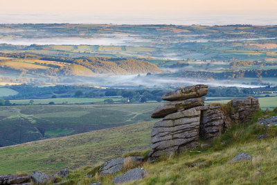 Next running route! Who's coming with me? landscapelifescape:  Hare Tor, Dartmoor, UK Down From Hare by Alex37
