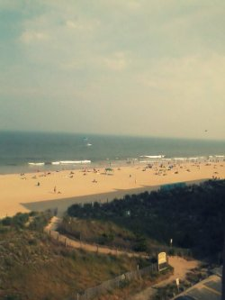 undercurrentsofpossibility:  View of Ocean City- taken yesterday from my cousin's condo.