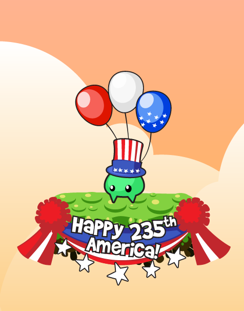 Happy 4th of July, American friends! Litter Dave wanna celebrate too!! :3
