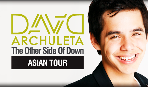 "davidarchuleta.com: Asian Tour David is going to Asia this July! He will be performing in Indonesia, the Philippines, Vietnam and Malaysia from July 16 to July 26. Read on for related videos from David and press announcements from the concert organizers. For ticket purchases, check out the ""Schedule and Ticketing"" page. Source"