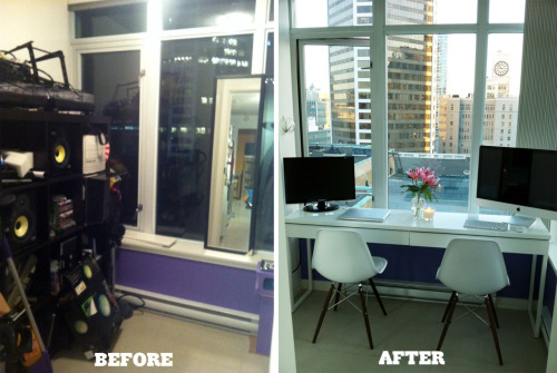 Before & After: Rob's Solarium