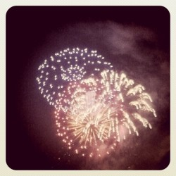 Requisite fireworks photo, Del Mar. (Taken with instagram)