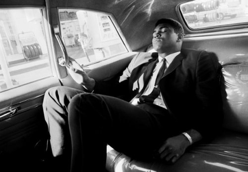 mpdrolet:  Muhammad Ali, driving around his hometown, Louisville, Kentucky, 1966 Thomas Hoepker