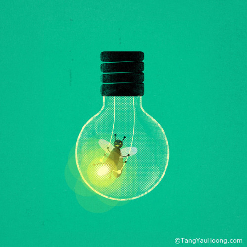 Swinging in the Bulb on Flickr.By Tang Yau Hoong: Website / facebook / tumblr / twitter