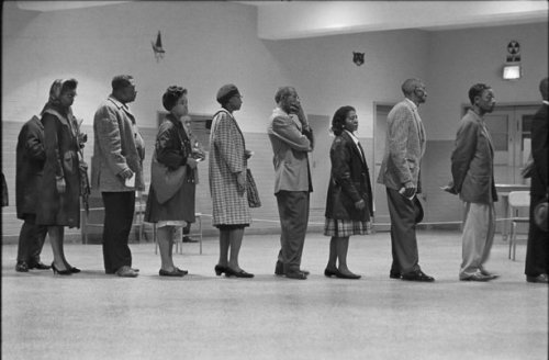 African-Americans vote for the first time, Washington, D.C., 1963 Leonard Freed