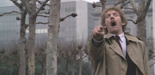 itcanbefilmed:  Invasion Of The Body Snatchers. Directed By Philip Kaufman. 1978.