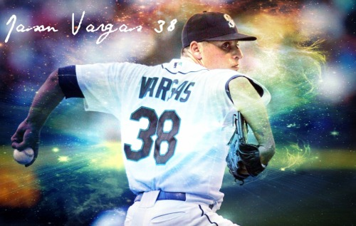 Jason Vargas wallpaper made by yours truly. 3 shutouts this season, lets make it 4 next start! Feel free to use/share.