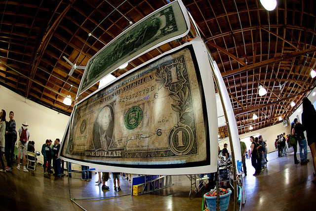 Maker Faire 2011 - Big bucks by robscomputer on Flickr.