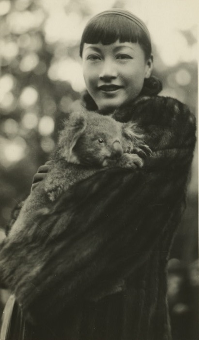 paperspots:  Anna May Wong in Australia  KOALA.  I CANNOT DEAL.