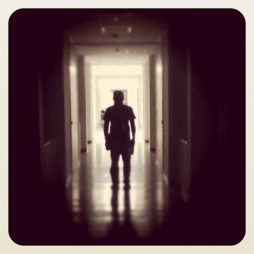 Mumo sa hallway o_O (Taken with instagram)