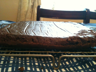 My as of yet uncut brownies…. Is it wrong I want to eat it all now?