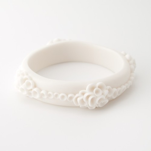 Costa Del Sol Porcelain White Bracelet by MaaPstudio on Etsy