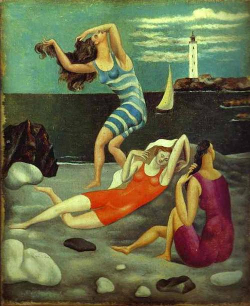 artemisdreaming:  The Bathers, 1918 Pablo Picasso