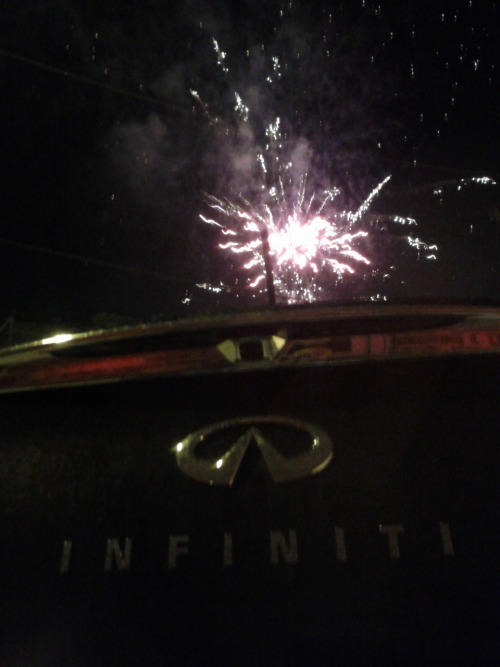 Fourth of July flair over the Infiniti G37 convertible