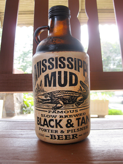 I love the growler bottle of this m-i-s-s-i-s-s-i-p-p-i mud! Photo credit: Lush Lady