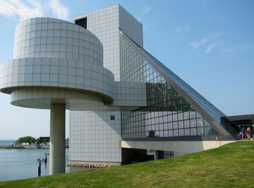 Rock and Roll Hall of Fame, definitely one of my favorite iconic buildings of all time.