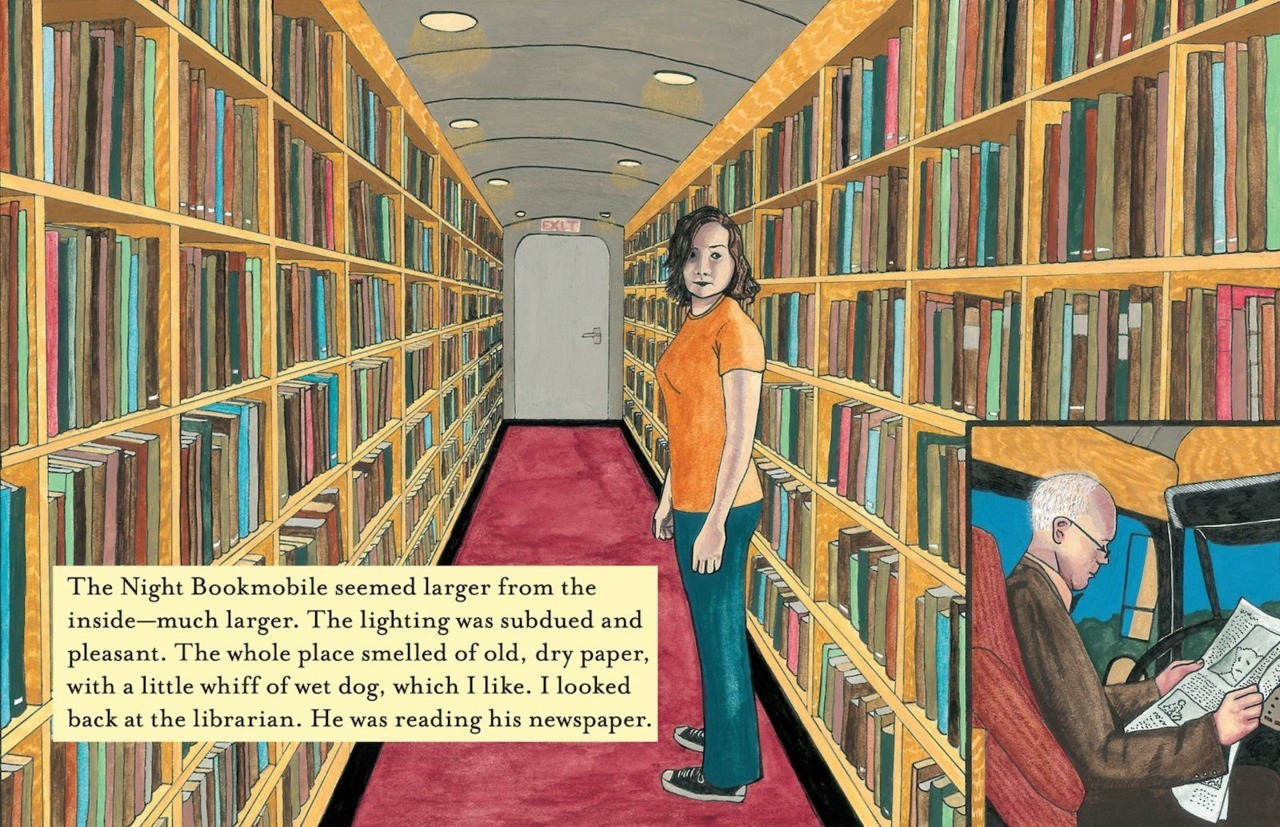 The Night Bookmobile by Audrey Niffenegger looks promising, especially if you love the world of books and libraries and all that like I do. I will definitely check it out in the future.