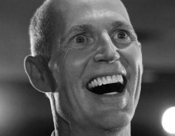 "Florida Governor Rick Scott's ""jobs budget:"" 1,300 are officially unemployed today More wingnut economics brought to you by a Florida Tea Party darling, Rick Scott (R):  [Effective today] 1,300 state employees [have been] put  out of work by the new budget approved by the Legislature and signed  into law by Gov. Rick Scott on May 26. Scott kept his promise to reduce  the size of the state government bureaucracy. But he did so at the  expense of real people with mortgages, healthcare bills, college tuition  payments and credit card payments. Many of them earned less than $30,000 a year after years of state  employment. […] The state agencies that took the biggest hits are the  Department of Juvenile Justice and the Department of Children and  Families, which together account for most of the layoffs.  Actually a total of about 4,500 state jobs were eliminated. But Scott did get some corporate tax cuts in there, totaling $37 million — which is much less that the $1.6 billion he wanted originally. How to pay for such a hefty loss of revenue when you're over budget? Cut stuff: Vetoed from the budget Public Television and Radio Stations, $4.7 million Compulsive gambling and addiction treatment, $539,000 National Veterans Homeless Support Group, $12 million Senior Citizens Center grants, $1.4 million Florida Alliance of Boys and Girls Clubs, $1.7 million Environmentally endangered lands, $350 million To see a complete list of Gov. Rick Scott's budget vetoes, go to links.tampabay.com. Florida currently has a 10.6% unemployment rate and laid-off state employees will now add to that. Scott also turned down $2.4 billion in federal stimulus money to build a high speed rail (although he did accept federal stimulus money for other things).  So where are all the 'jobs' in Scott's 'jobs budget' going to come  from? Well from those corporation that got the tax cuts, of course!  Because that trickle-down goodness has worked SO WELL for American  workers and the middle-class up to now. I'm sure the corporations won't  continue to bank that extra money or give their CEOs larger bonuses – this time. Remember this economic logic at the polls in 2012: the wingnut  ideology of bottom-to-top income redistribution is exclusive to those  who call themselves GOP, Republican or Tea Party. Vote accordingly."