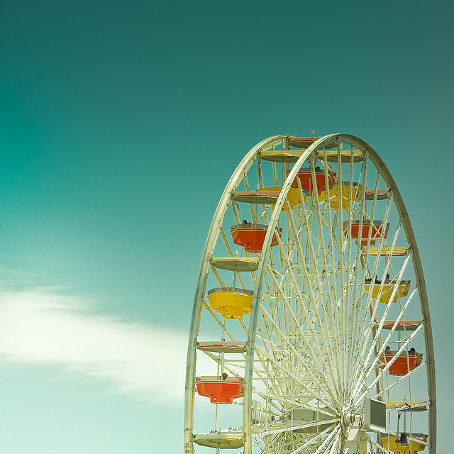 Los Angeles / Ferris Wheel / Summer by ►CubaGallery on Flickr.