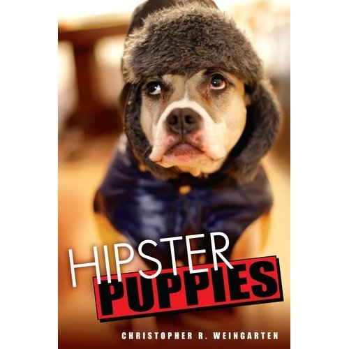 "hipsterpuppies:  **IT'S HERE!** Today is the official release day of Hipster Puppies, the book. The timeless meme has successfully turned itself into a novel for the ages, already the inaugural recipient of the Pulitzer Prize for Snarky Animal-Based Captions, Toilet-Tank Division. Be sure to order a copy for yourself and everyone you know… we're turning the New York Review Of Books into our own personal wee-wee pad! Today, before you treat your bookshelf to some Jennifer Egan or Malcolm Gladwell or whatever, ask yourself, ""Does this book have pictures of dogs in sunglasses in it?"" If not, the book probably sucks and is probably hard to read. Here are some places to buy it immediately: Amazon • Indiebound • Barnes & Noble • Books-A-Million • Borders Also, it's probably in your local bookstore. If it's not, you should do the right thing and move immediately. Seriously, though, Hipster Puppies is 85% new material, and I saved all the cutest dogs and all my best jokes for the occasion. You can even meet a few of our new puppy pals (and their owners) in this week's New York Post.  Please reblog and link the fuck out of this because my landlord is no longer taking ""Oh, I have popular internet meme"" in exchange for rent money. So yeah, if you treat yourself to one glossy picture book for adults in 2011… well, you're probably going to buy that stupid swearing-at-my-kids thing. ~Christopher"