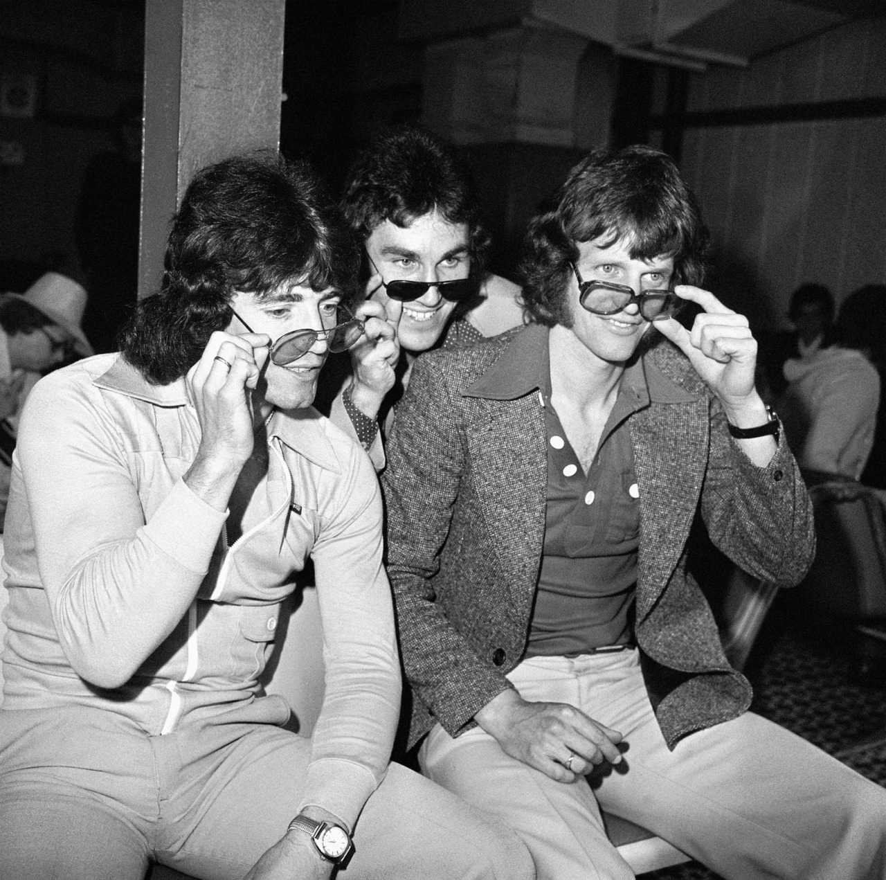Kevin Keegan, Gerry Francis and Mick Channon: Swagtastic in 1972.