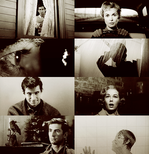 "300 FAVORITE MOVIES (in no particular order)  36. Psycho (1960) ""We all go a little mad sometimes. Haven't you?"""