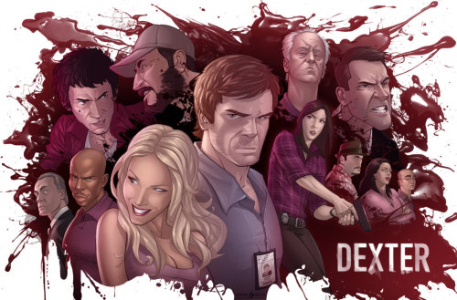 Dexter: The Dark Defender // by patrickbrown