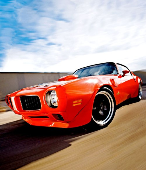 1973 Pontiac Trans Am Firebird.