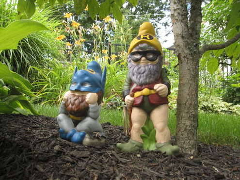 (via How To: Make Superhero Garden Gnomes : Man Made DIY)