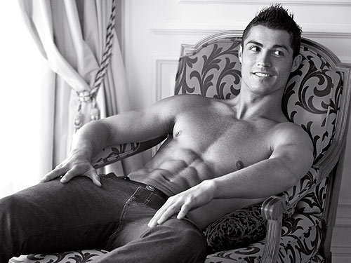 Cristiano Ronaldo.. I'm in love with him ♥