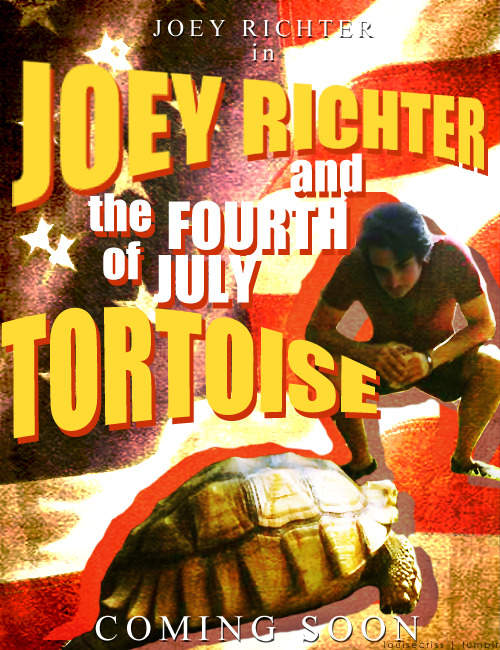 So I heard Joey Richter was going to be in a movie.