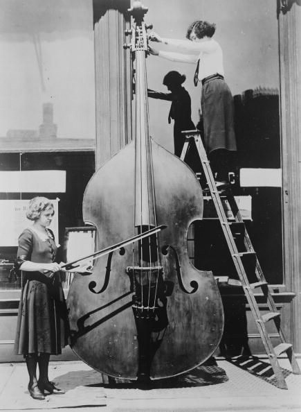 Giant Double Bass [Hadland, Strad Magazine, June 1925]