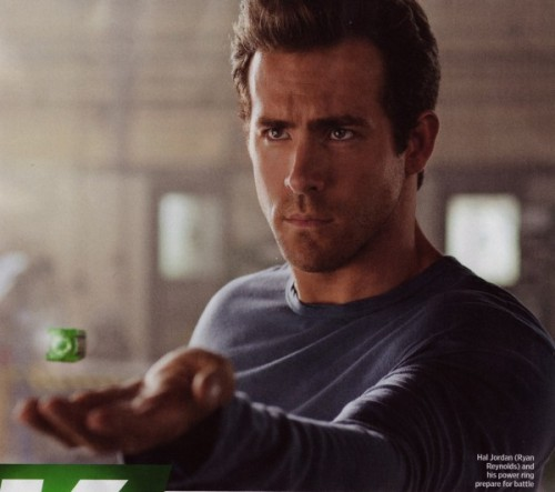 Ryan ReynoldsGreen Lantern, directed by Martin Campbell.
