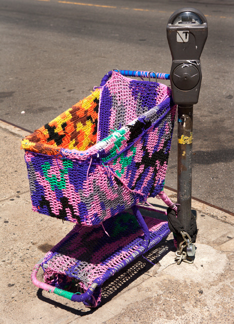 Street Art: Olek, Williamsburg:
