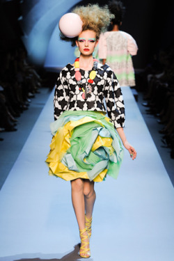 Who else but the whimsical Christian Dior? Click to see more from the Fall 2011 Couture shows.