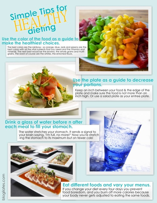 """Simple Tips for Healthy Dieting"""
