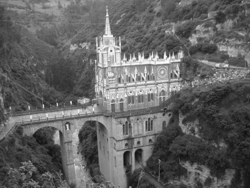 Cathedral at Las Lajas, Colombia (1916-1949)