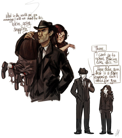 rennerei:  Midnight crew mobsterdads #3
