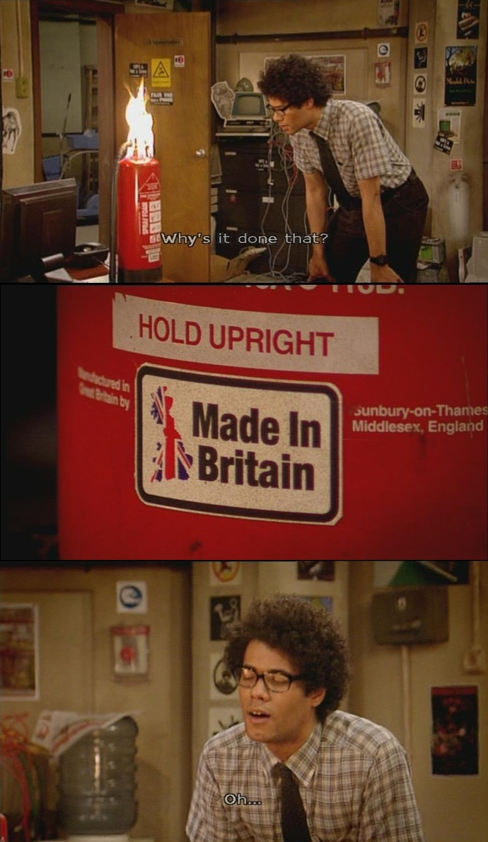 sophieoncinemaetc:  The IT Crowd: Calamity Jen