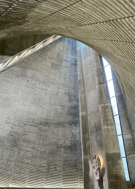 thorirvidar:   Slettebakken kirke, by architect Tore Sveram. Just finished editing a set of images from an amazing building. © thorir vidar, 2011. all rights reserved.