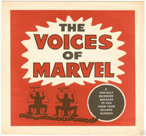 The Voices of Marvel record…