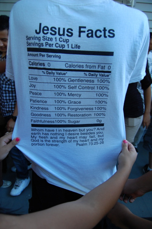 livinuptheword:  can I have this shirt?