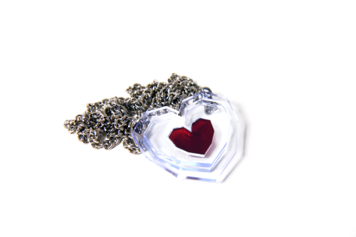 blazerdesigns:  Hey guys, I finally put up the Heart Container Necklaces in my shop. Additionally, I'll be giving one lucky blogger one of these Heart Container Necklaces as a promotion! To qualify for a chance to win said Heart Container Necklace, simply reblog this post by July 9th, Saturday, 11:59pm (PST). Then I'll take a list of all rebloggers, randomly select one, and message the lucky tumblrhead. Good luck!