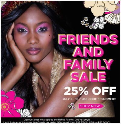 Friends & family sale! Now through July 10th!