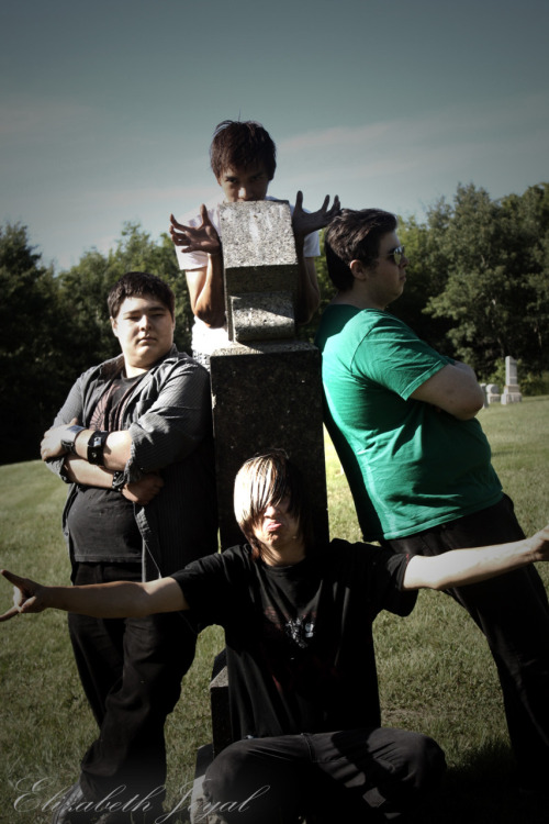 Band Photo from the Shoot Monday (ended up being a short shoot, and well not many pics came out of it due to short amount of time)