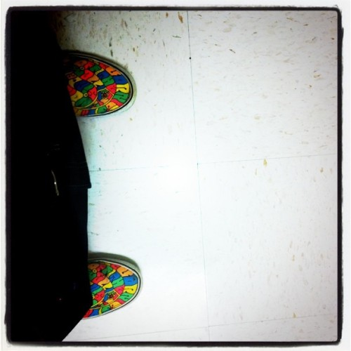 """Dey off da wall x Onda floor #pimpin "" (Taken with instagram)"