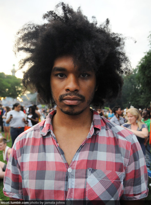 Man Moment: Terence Etc., writer and director, at the Fort Greene Festival in Brooklyn