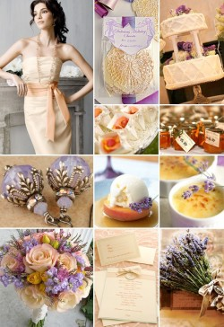Loving this. (via inspiration boards / ::PURPLE & PEACH:: - Project Wedding Forums)