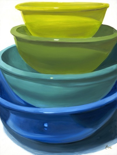 stilllifequickheart:  Eve Plumb Four Bowls, Cool 2011