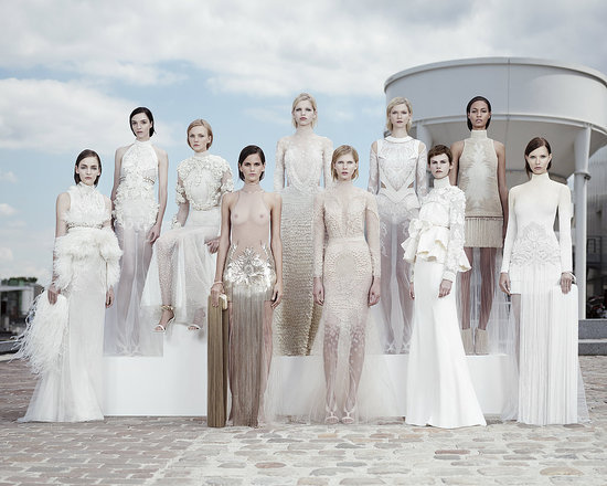 Ice Queens…. (via Fall 2011 Givenchy Couture)